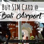 Bali PrePaid Travel SIM Card – Best Place to Buy it is at Denpasar Airport at Telkomsel Mobile Kiosk