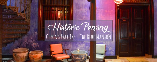 Lovely UNESCO Heritage Hotel Cheong Fatt Tze, The Blue Mansion in Penang