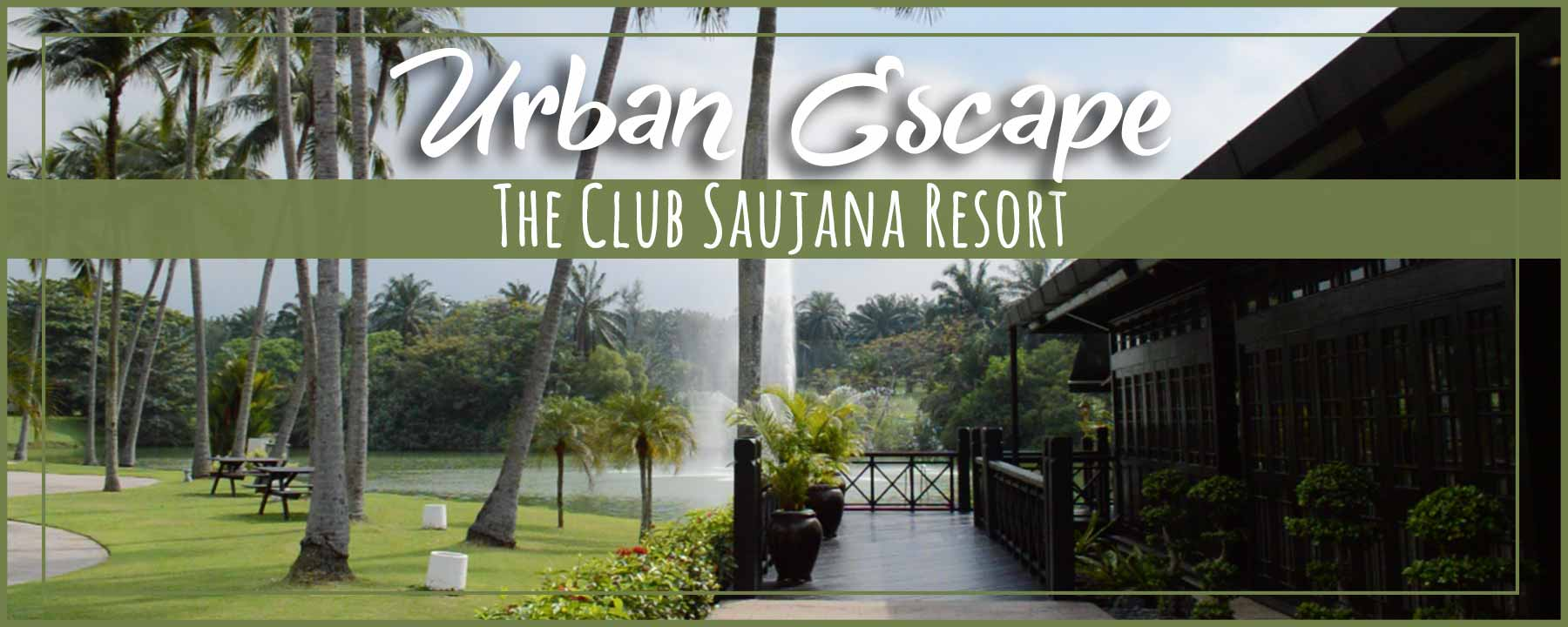 Foodie Stay at The Club Saujana Resort