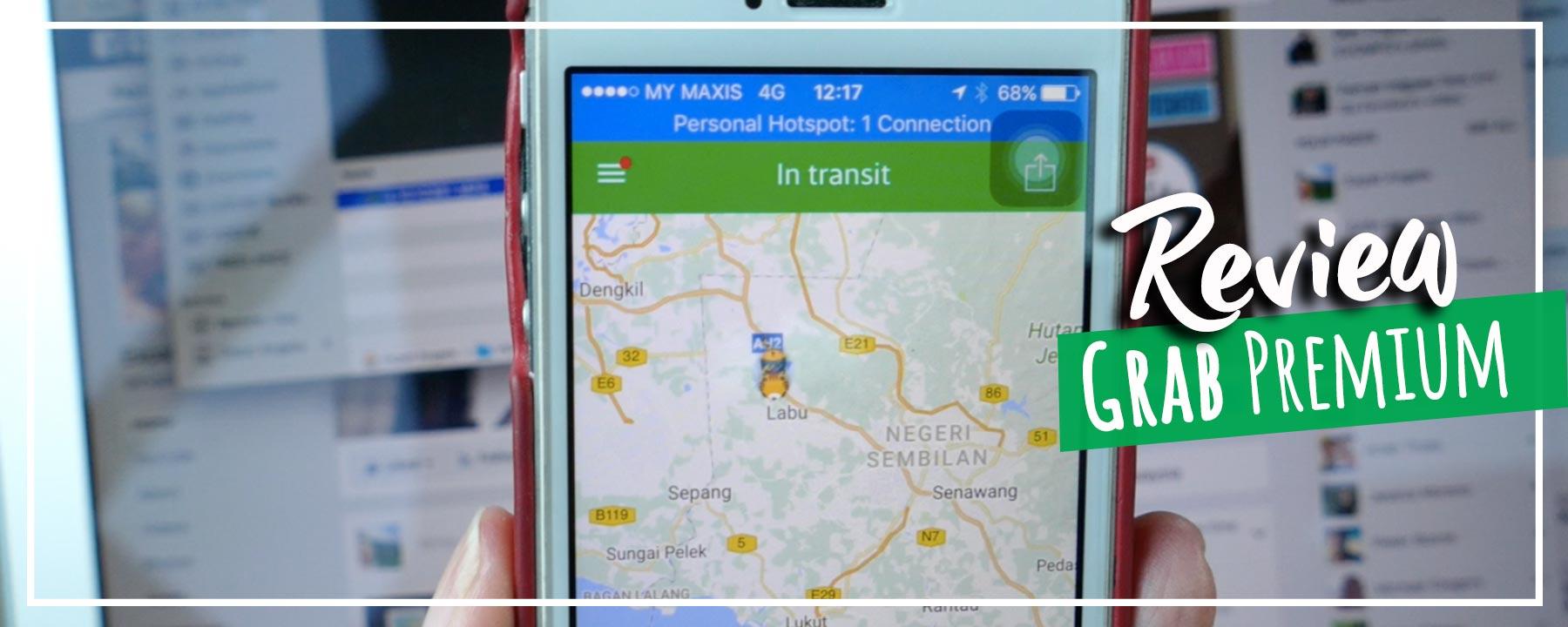 Grab Premium Kuala Lumpur to Port Dickson in BMW for RM210