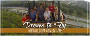 Hot Air Balloon Ride in Kuala Lumpur with MyBalloon Adventure