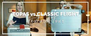 Review | RIMOWA Topas & Classic Flight Luggage Tour