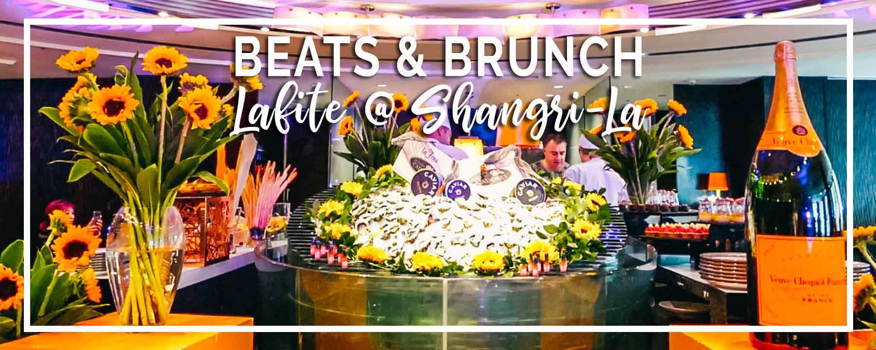 Beats & Brunch at Lafite Shangri-La Kuala Lumpur | Best Party Champagne Brunch