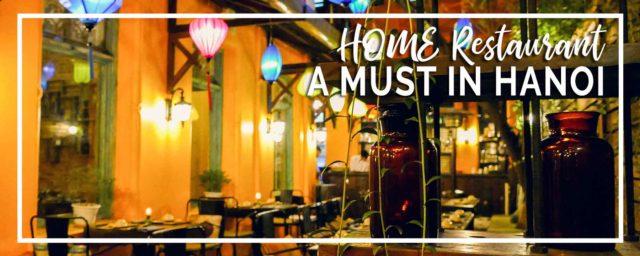 HOME Hanoi Restaurant | Best Meal of My Trip!