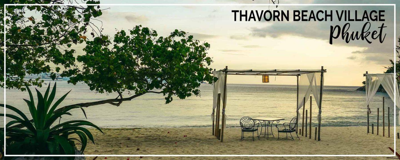 Phuket | Thavorn Beach Village Relaxed Beachfront Resort